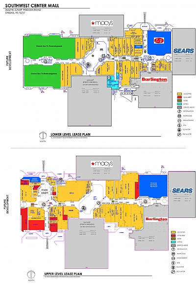 southwest center mall directory